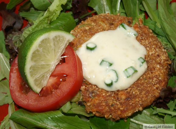 Asian Salmon Patties with Ginger Aioli