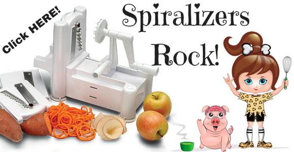 Spiralizers Rock!
