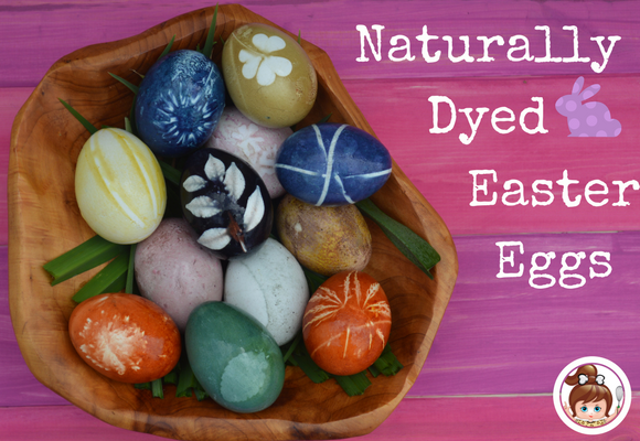 Naturally Dyed Easter Eggs - Paleo Recipes - Cavegirl Cuisine